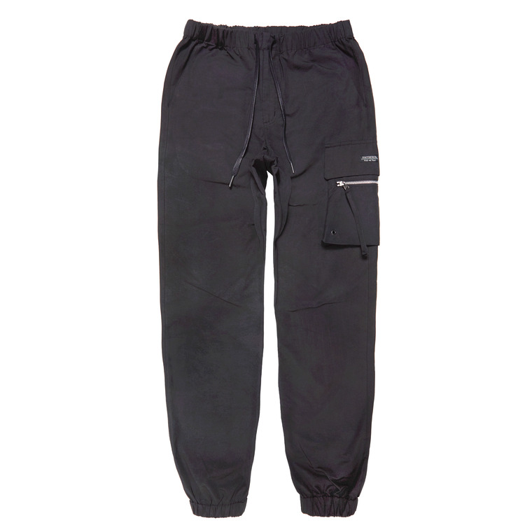 DV.LOT525 2 OUT-POCKET JOGGER PT -BLACK-