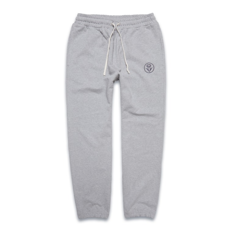 DV. LOT548 HEAVY WEIGHT SWEAT PANTS -GRAY-