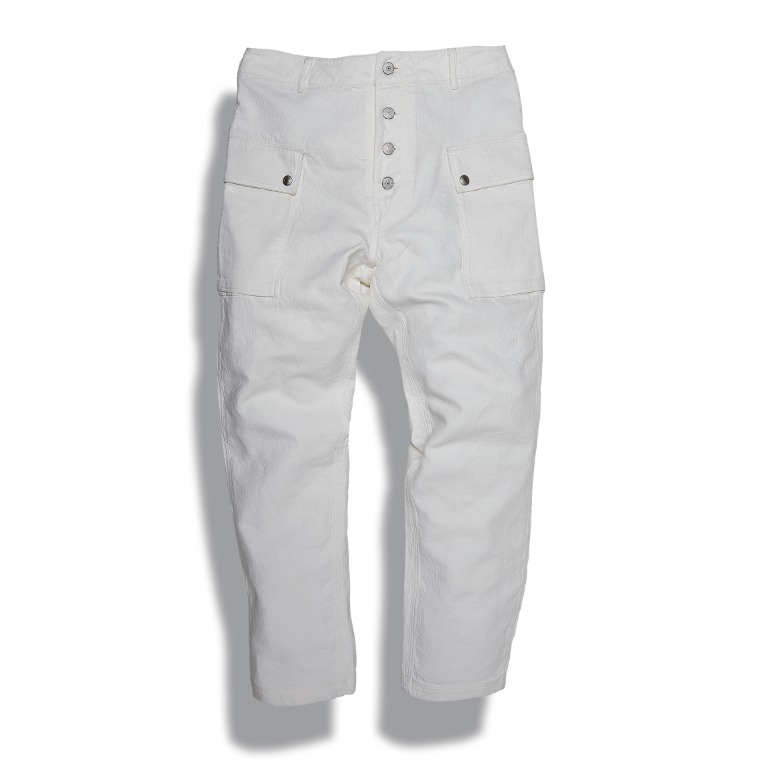 DV. LOT605 Type P-44 Pants (Tapered Fit) -OFF WHITE-
