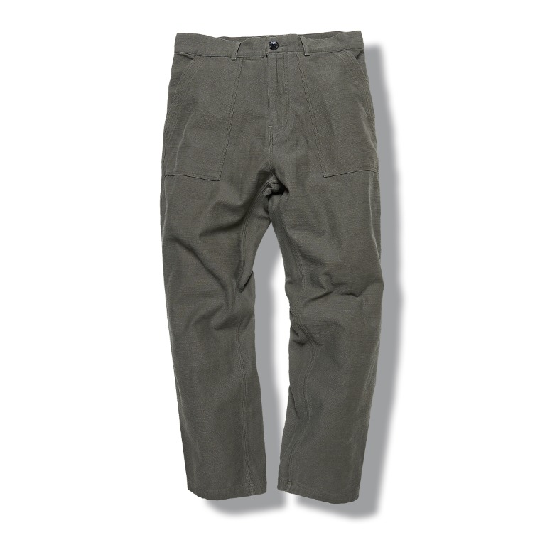 DV. LOT603 Fatigue Pants (BackSatin) -KHAKI-
